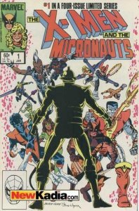 X-Men and the Micronauts #1, VF+ (Stock photo)