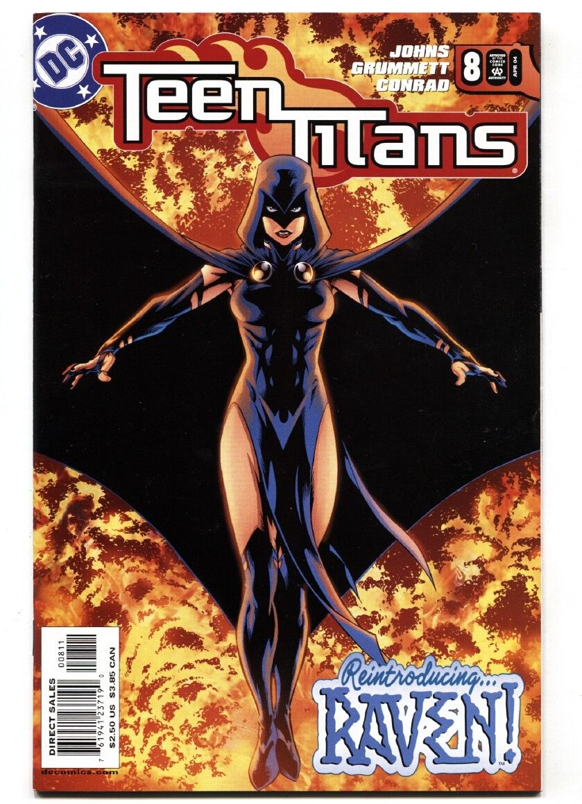 Teen Titans 8 2004 1st Appearance Of Ravager Rose Wilson Hipcomic