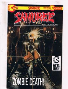Samuree #5 VF Continuity Comics Comic Book 1987 DE25