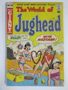 ARCHIE GIANT SERIES  149  G 10/1967 Jughead! COMICS BOOK