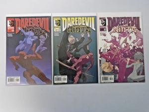 Daredevil Ninja set #1 to #3 - see pics - 8.0 - 2000
