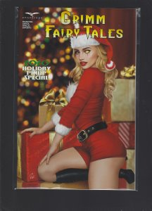Grimm Fairy Tales 2020 Holiday Pinup Special Cover D