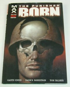 The Punisher: Born HC by Garth Ennis - Marvel Max - Vietnam War - hardcover