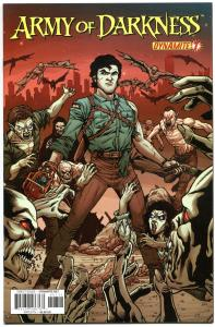 ARMY OF DARKNESS #7, NM, Bruce Campbell, 2012, Vol 3, Horror, more AOD in store