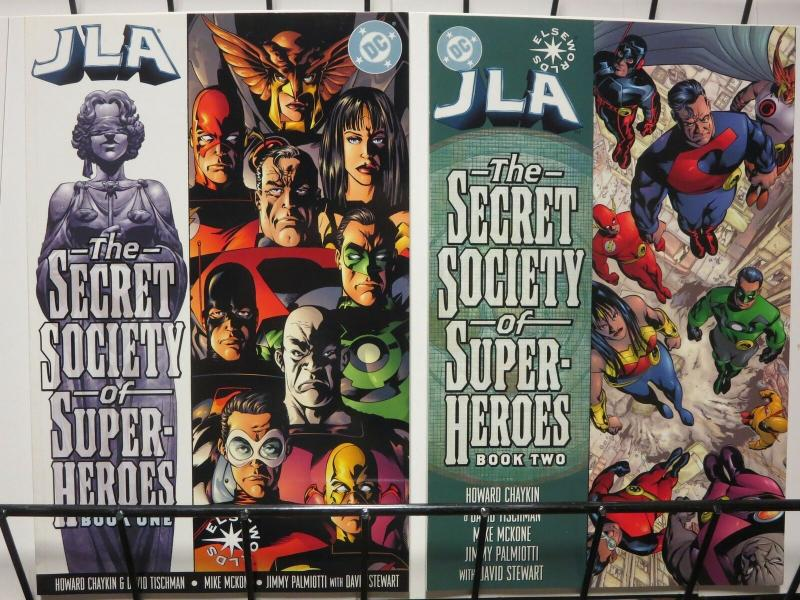 JLA SECRET SOCIETY OF SUPER HEROES (2000) 1-2  COMPLETE