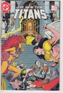 NEW TEEN TITANS #8, VF/NM, Wolfman, Lopez, DC 1984 1985  more DC in store