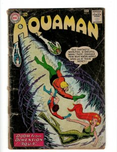 Aquaman # 11 VG DC Silver Age Comic Book Justice League Batman Superman Atom KD1