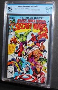 Marvel Secret Wars #1  / CBCS 9.8 NM-MT  Blue Galactus Variant  1984