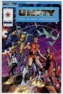 UNITY #0, NM, Valiant, Barry Smith,1992, Janet Jackson, more Valiant in store