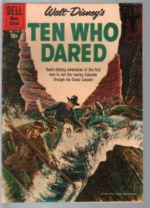 Ten Who Dared-Four Color Comics #1178 1960-Disney-Brian Keith-VF-