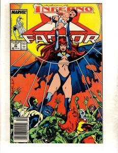 13 Marvel Comics XFactor 37 New Mutants 47 49 50 51 52 55 56 57 58 60 61 62 CJ11