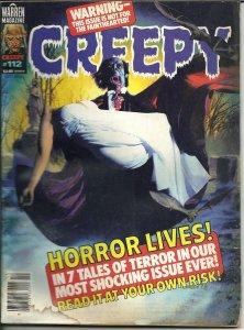 Creepy #112 (1979) Rich Corben cover