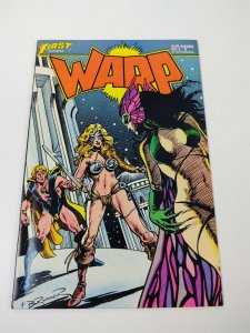 Warp #5 VF first comics - cameo of grimjack pre-dates starslayer 10 munden's bar