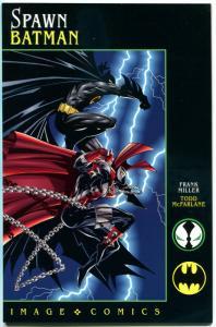 SPAWN BATMAN #1, NM+, Frank Miller, Todd McFarlane, 1994, more FM in store