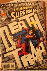 Adventures of Superman 517 VF/NM