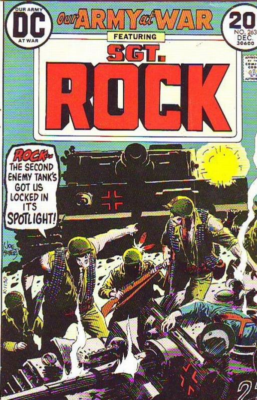 Our Army at War #263 (Dec-73) FN/VF+ Mid-High-Grade Easy Company, Sgt. Rock