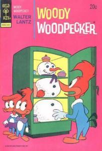 Woody Woodpecker (1947 series) #135, VF- (Stock photo)