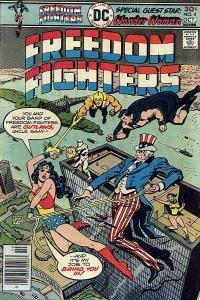 Freedom Fighters (1976 series) #4, VF (Stock photo)