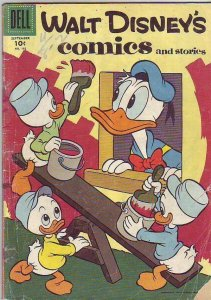 Comics and Stories, Walt Disney's #192 (Sep-56) GD Affordable-Grade Donald Du...