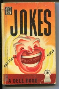 Jokes #152 1847-Dell-cartoons-gags-wisecracks-Scott Brown-Gene Carr-Bill O'Ma...
