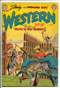 Western #39 1953-DC-Indian attack cover-Wyoming Kid-Rodeo Rick-Nighthawk-Rube...