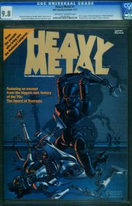 HEAVY METAL #1 APRIL 1977--CGC 9.8--CORBEN-BODE-MOEBIUS 1031863001