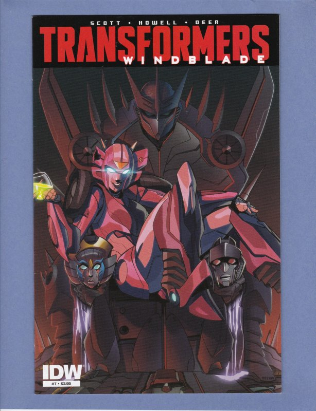 Transformers Windblade #7 NM- / HipComic