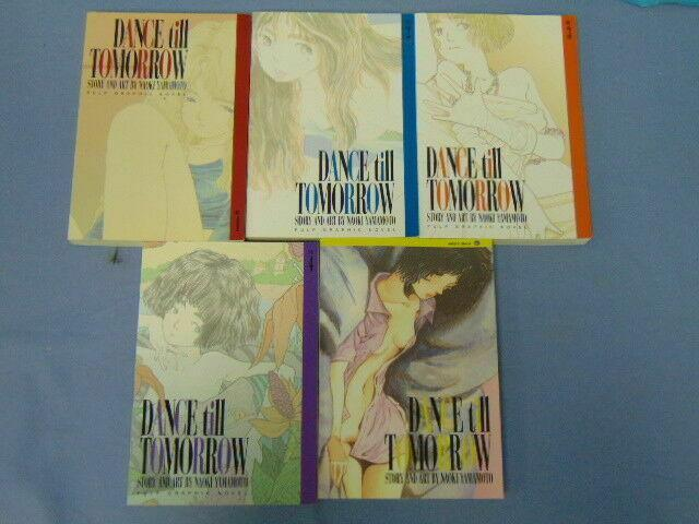Dance Till Tomorrow Naoki Yamamoto English Pulp Graphic Novel Manga Issues 1-4 7
