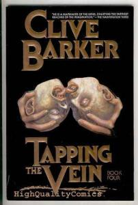 TAPPING THE VEIN #4, NM, Clive Barker, Horror, 1990, Madonna
