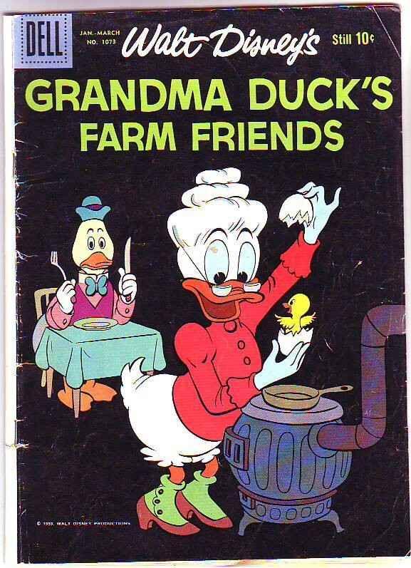 Four Color #1073 (Jan-60) VG Affordable-Grade Grandman Duck, Uncle Scrooge Mc...