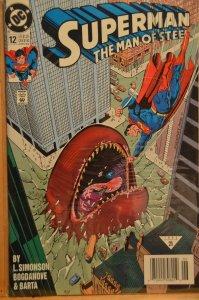 Superman: The Man of Steel #12 (1992)