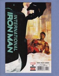 International Iron Man #5 NM Marvel 2016