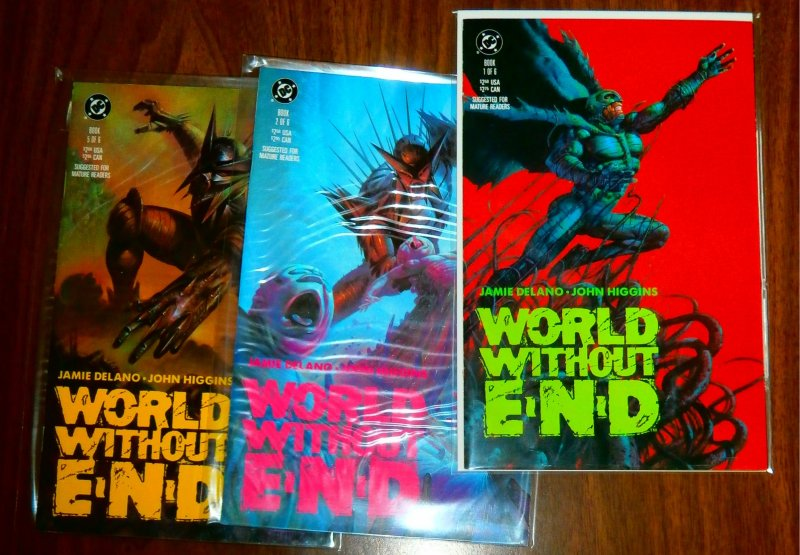 World Without End #1,2,5 (set of 3)