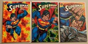 Superman set:#1-3 8.0 VF (1994)