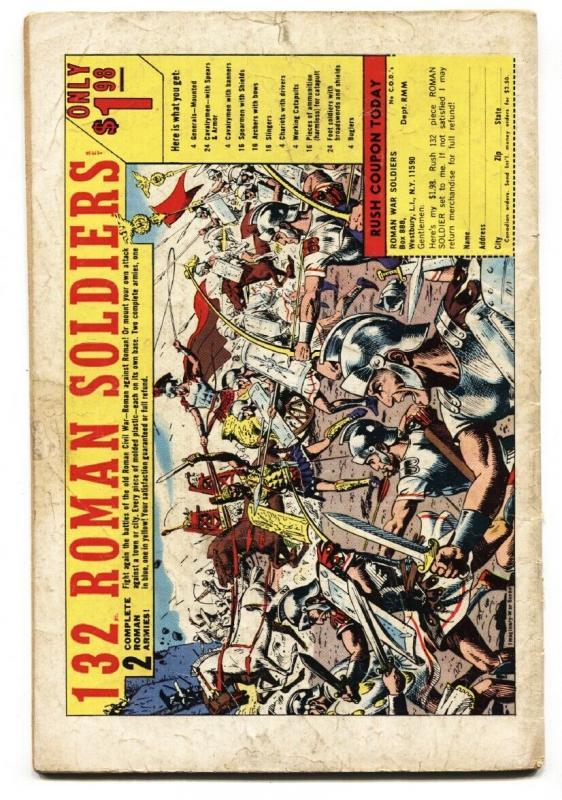 FANTASTIC FOUR #77 1968- SILVER SURFER-JACK KIRBY ART VG