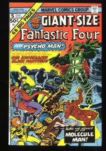 Giant-Size Fantastic Four #5 FN/VF 7.0