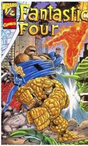 Fantastic Four #1 - Wizard 1/2 w/ COA - 3rd Series NM (1998)