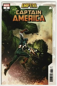 Empyre Captain America #3 Guice Variant (Marvel, 2020) NM