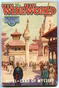 The Wide World Pulp January 1936- Nepal Land of Mystery