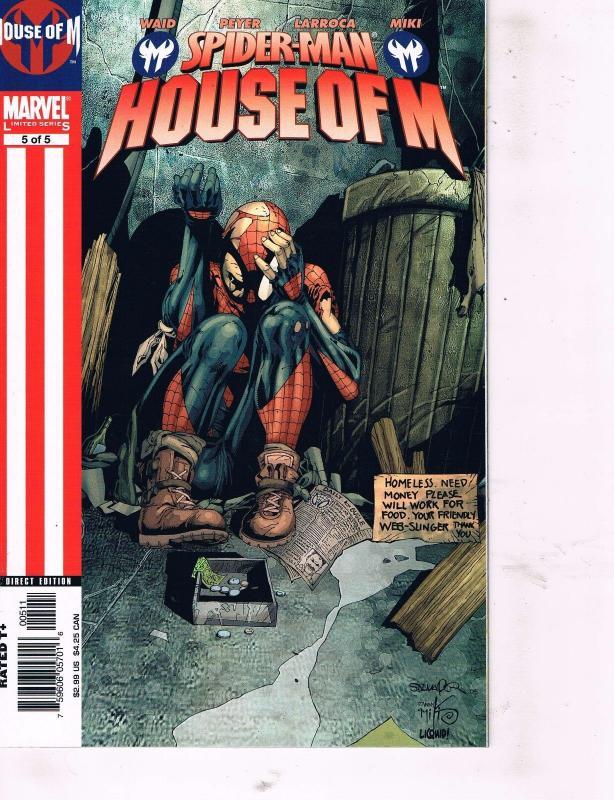 5 Marvel Comics X-Men Phoenix Endsong # 1 2 Spider-Man House Of M # 3 4 5 TW27