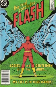 Flash, The (1st Series) #347 (Newsstand) FN; DC   save on shipping - details ins