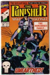 Punisher War Journal   vol. 1   #25 GD (Sicilian Saga 1)