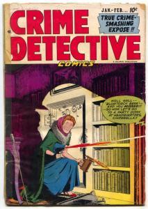 Crime Detective Vol. 2 #12-DEVIL'S ISLAND-Blowtorch cover G