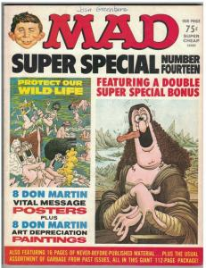 MAD SPECIAL (1974) 14 VG MESSAGE POSTERS DON MARTI