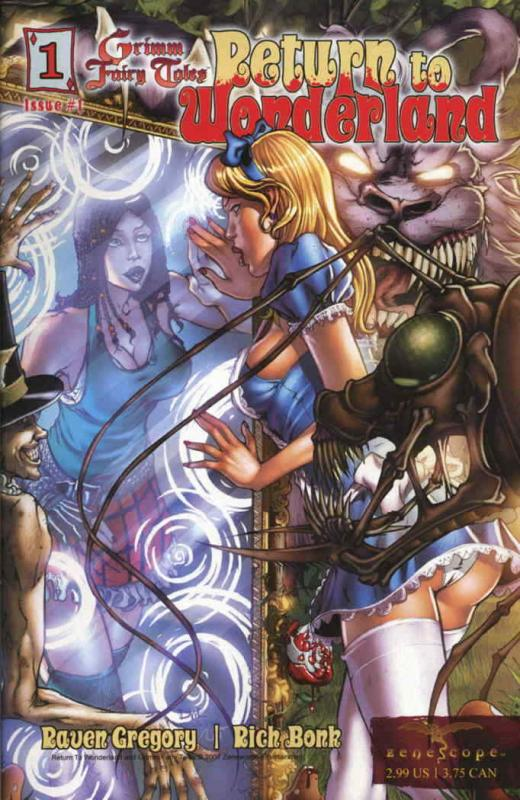 Grimm Fairy Tales: Return to Wonderland #1 (3rd) VF/NM; Zenescope   save on ship