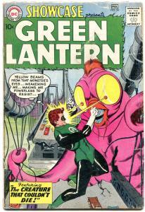 SHOWCASE COMICS #24 1960-3rd SILVER AGE GREEN LANTERN-GIL KANE ART VG-