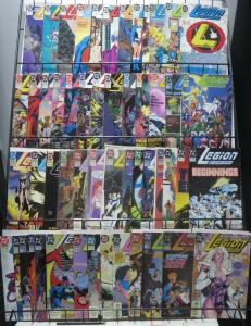 LEGION OF SUPERHEROES (DC, 1989-4th series) #1-53 VG-F or better! Keith Giffen!