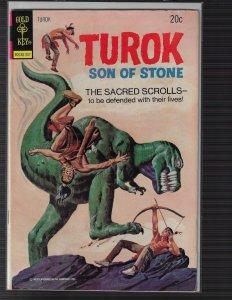 Turok, Son of Stone #85 (Gold Key, 1973)
