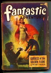 Fantastic Adventures-Pulps-7/1947-William P. Mc Givern-Elroy Arno