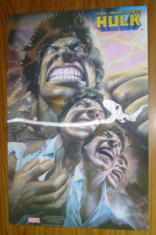 Incredible Hulk motion poster - 24 x 16 - lenticular - marvel comics 2003